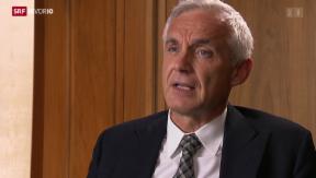 Video «Interview mit CS Präsident Urs Rohner » abspielen