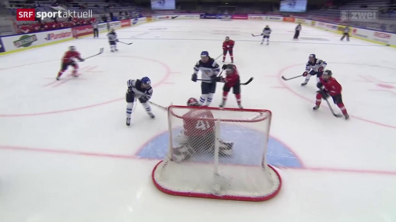 Eishockey: WM Frauen, Schweiz Finnland