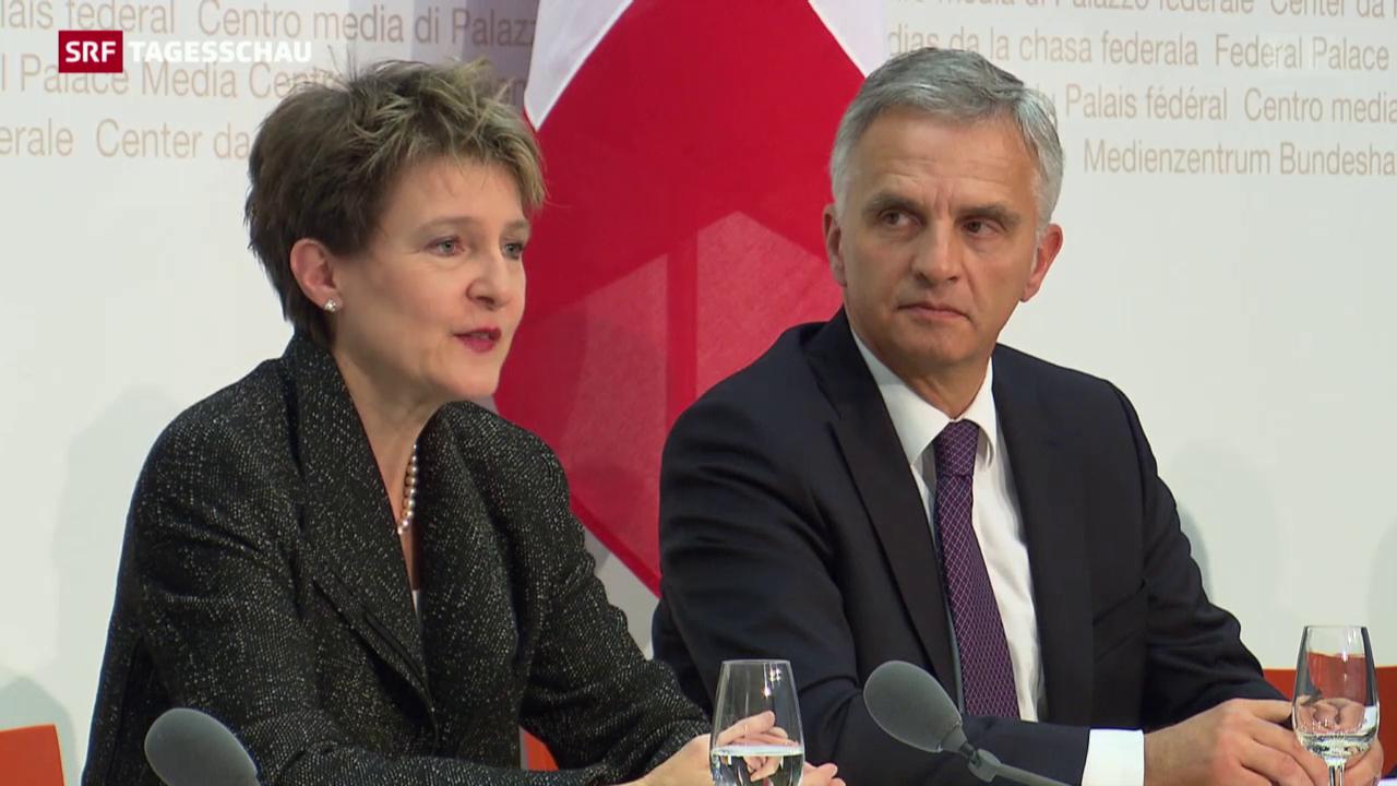 Bundesrat zur Umsetzung der Masseneinwanderungsinitiative