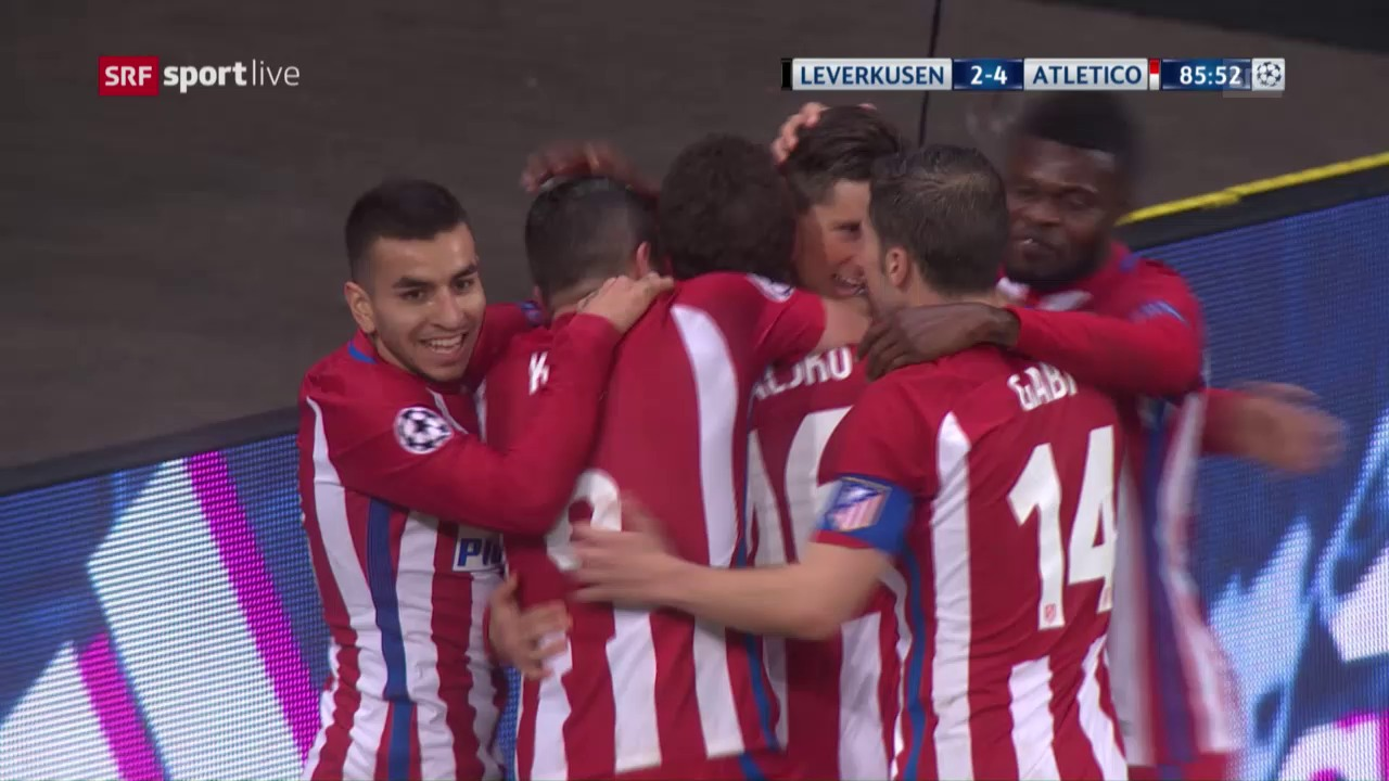Live-Highlights Leverkusen - Atletico