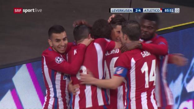 Video «Live-Highlights Leverkusen - Atletico» abspielen