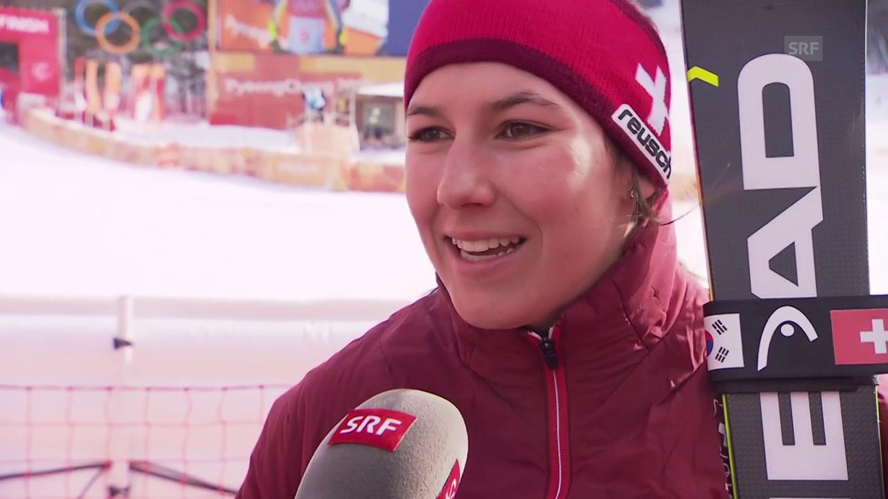 Holdener: «Die Vorfreude auf den Slalom ist gross»