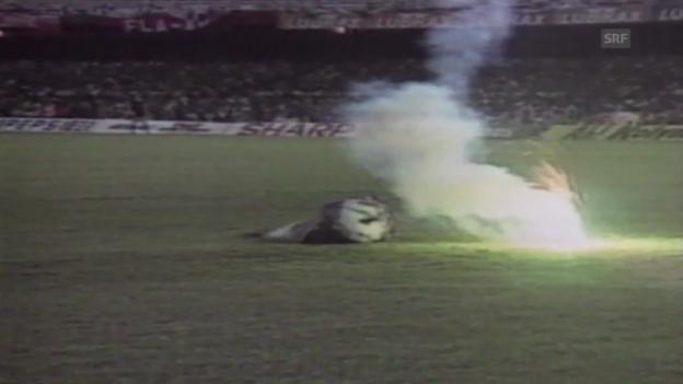 Video «Brasilien - Chile: Szenen des Skandals von 1989» abspielen