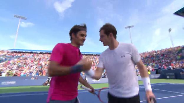 Video «Zusammenfassung Federer-Murray» abspielen
