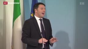 Video «Italiens «positiver Schock»» abspielen