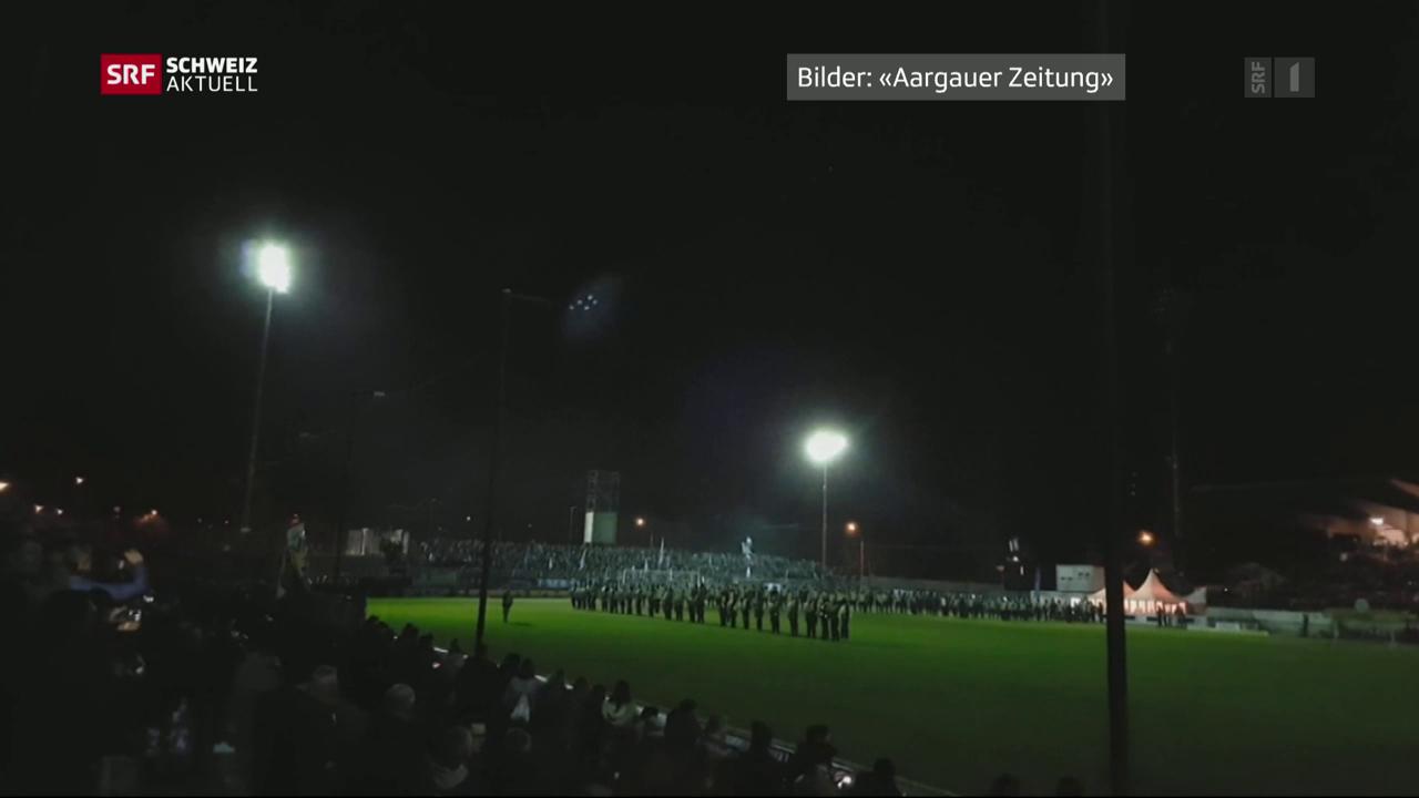 Match wegen Blackout abgesagt