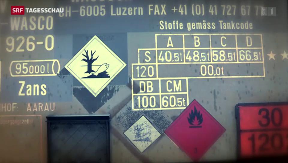 Chemie-Transporte gefährden Mensch und Umwelt
