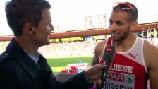 Video «Leichtathletik: Kariem Hussein im Interview» abspielen