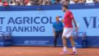 Video «Tennis: Stanislas Wawrinkas Achtelfinal in Gstaad» abspielen