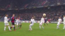 Video «Fussball: Europa League, FC Basel – Fiorentina, 2:2 durch Elneny» abspielen