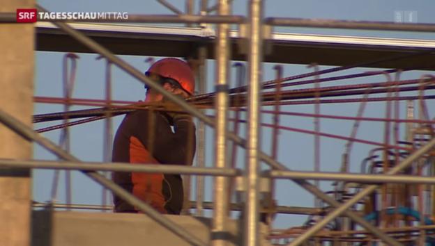 Video «Die Arbeitslosenquote sinkt» abspielen