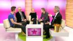 Video «Im Studio: Hänni, Ogi, Glössner und Scherrer» abspielen