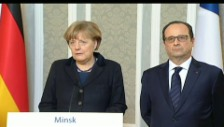Video «Merkel: «Wir haben einen Hoffnungsschimmer»» abspielen