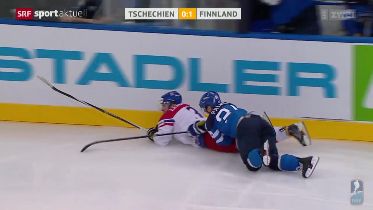 Eishockey: WM-Halbfinal Finnland - Tschechien