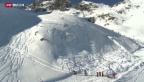 Video «Lawinengefahr in Schweizer Bergen» abspielen