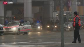 Video «Ausnahmezustand in der Basler Innenstadt» abspielen