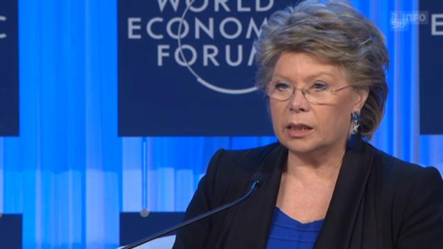 Video «Viviane Reding über die Frauenquote» abspielen