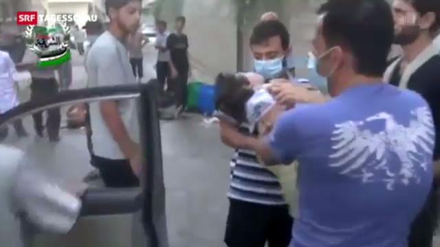 Indizien, aber keine Beweise für Giftgaseinsätze in Syrien
