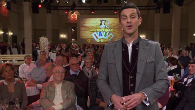 Video ««Kilchspergers Jass-Show» aus Flims» abspielen
