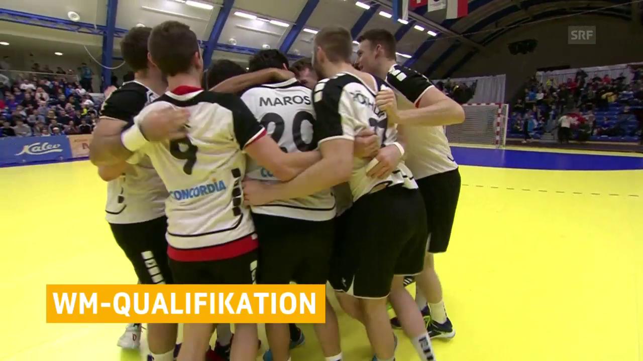 Wichtiger Sieg für die Handball-Nati