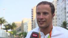 Video «Hug: «Mein Ziel war eine Goldmedaille, jetzt habe ich zwei»» abspielen