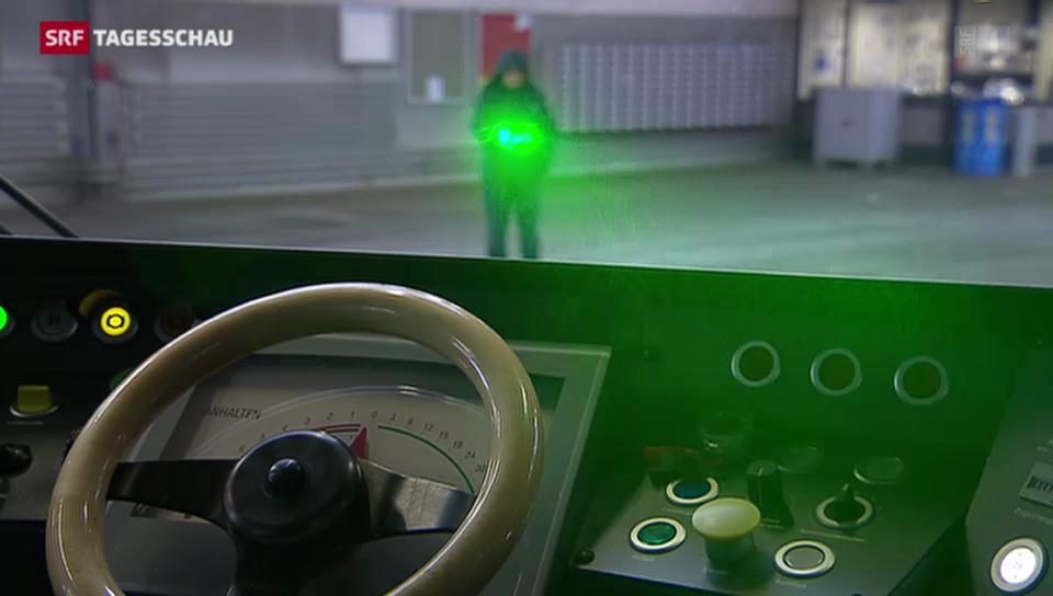 Schutz vor Laserpointer gefordert
