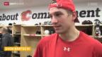 Video «Eishockey: Das Schweizer NHL-Trio bei Calgary» abspielen
