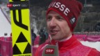 Video «Ammann zu Colognas 4. Goldmedaille» abspielen
