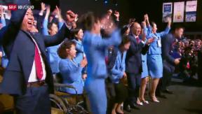 Video «Olympische Winterspiele in China» abspielen
