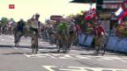 Video «Cavendish im Sprint nicht zu schlagen» abspielen