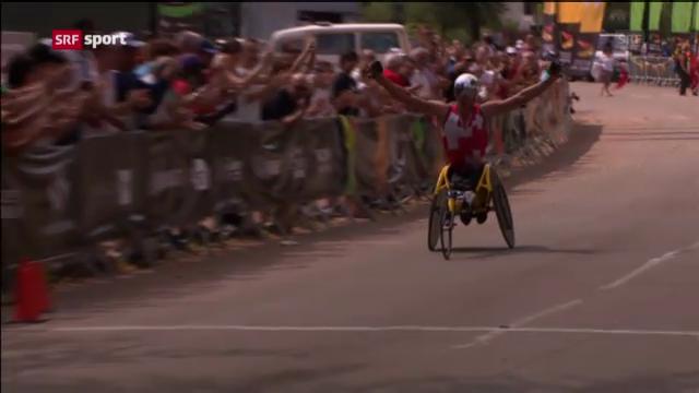 Behindertensport: Leichtathletik-WM in Lyon («sportpanorama»)
