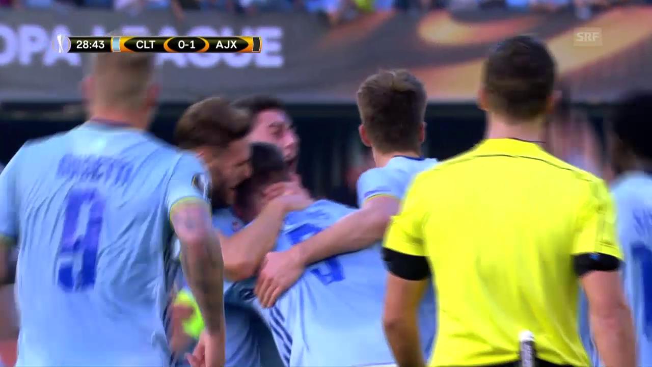 Remis bei Celta - Ajax