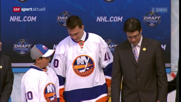 Video «Niederreiter erinnert sich an seinen NHL-Draft» abspielen
