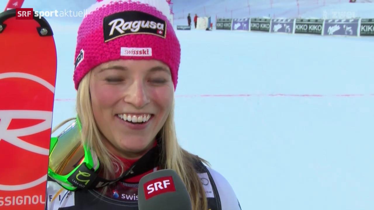 Ski: Riesenslalom Frauen in Are