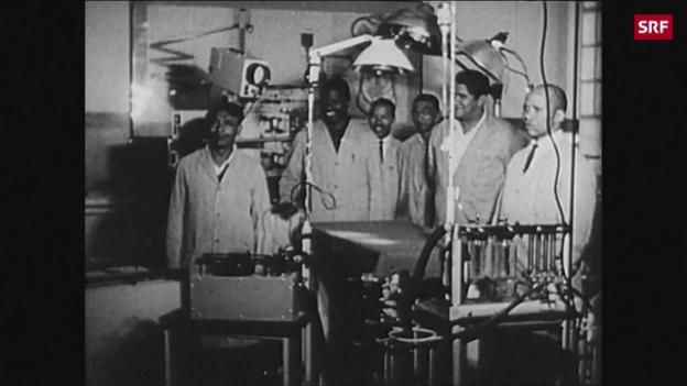 Video «Erste Herztransplantation vor 50 Jahren» abspielen
