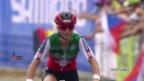 Video «MTB-WM: Jolanda Neff im Cross Country klar geschlagen» abspielen