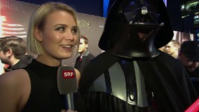 Video ««Star Wars – The Force Awakens»: die Schweizer Premiere» abspielen