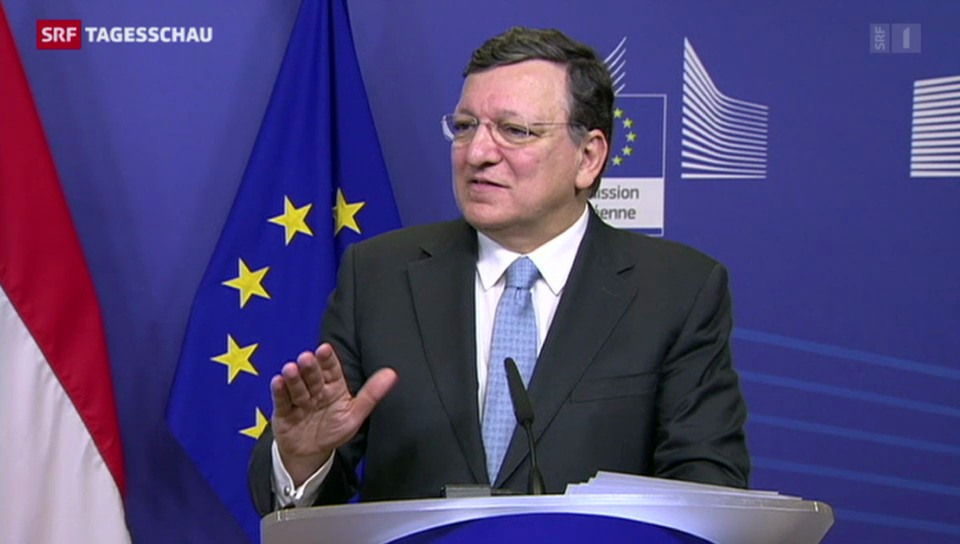Barroso mahnt die Schweiz