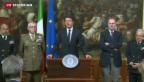 Video «Bestürzung bei der EU und in Italien» abspielen