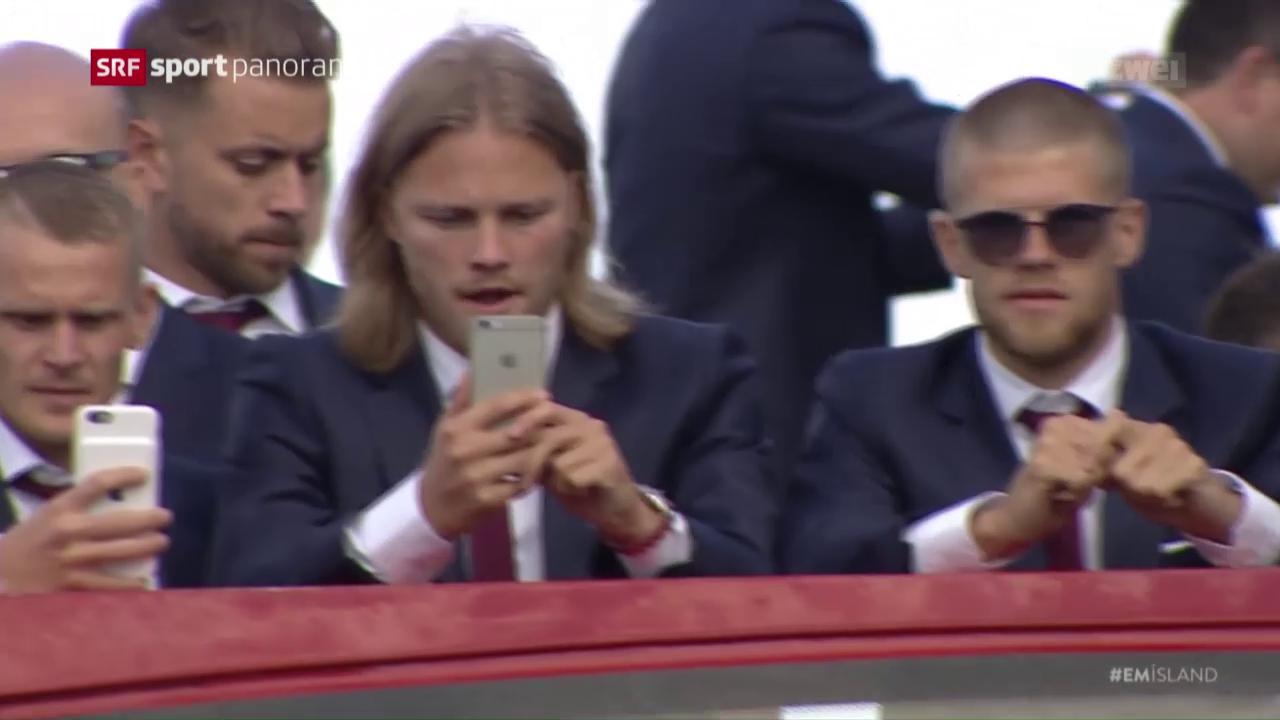 Birkir Bjarnason über den isländischen Fussball