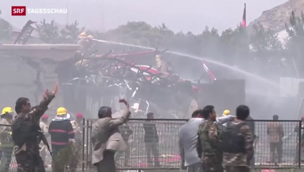 Video «Anschlag aufs afghanische Parlament» abspielen