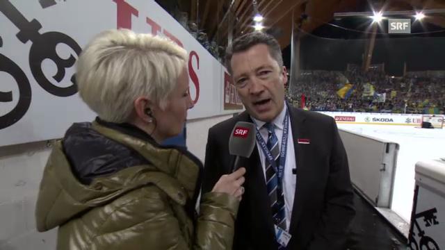 Spengler Cup: Interview mit Harold Kreis