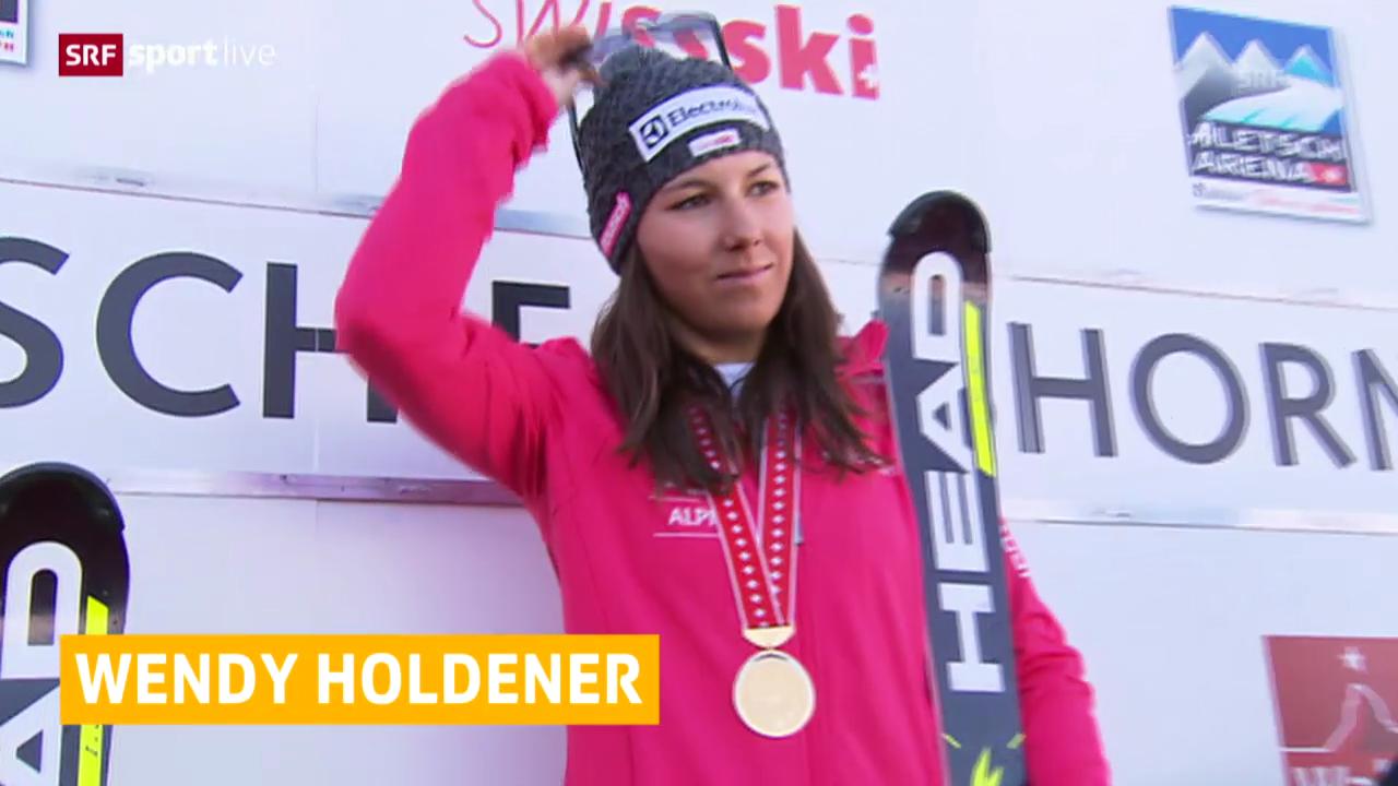 Ski: Superkombi-Titel an Holdener («sportlive»)