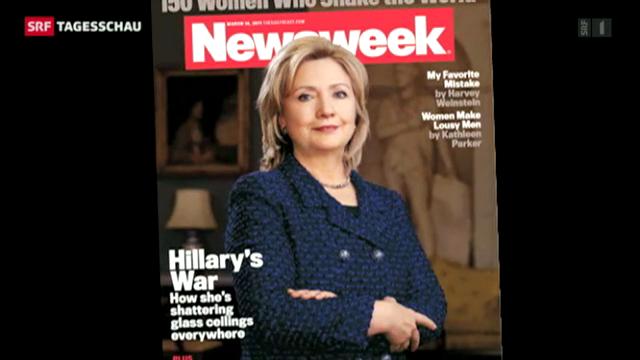 Clinton kurz vor Ende der Amtszeit im Spital.