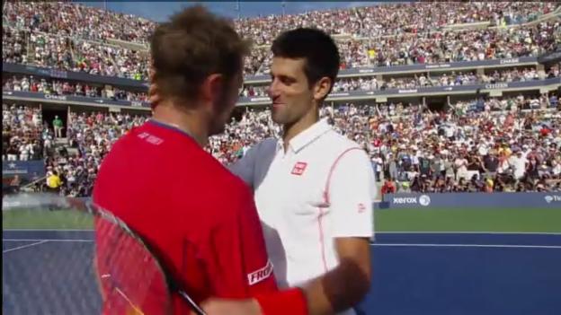Video «Tennis: Highlights Djokovic - Wawrinka («sportlive»)» abspielen
