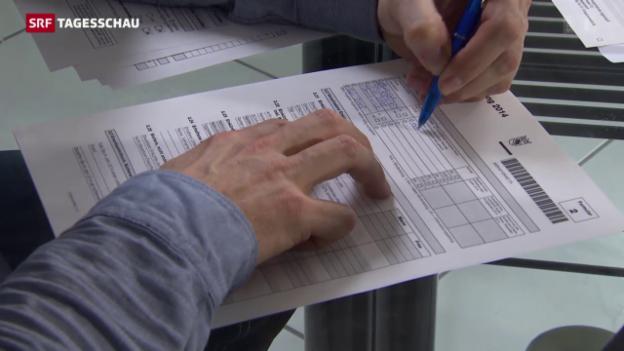 Video «Steuerreform für Ehepaare» abspielen