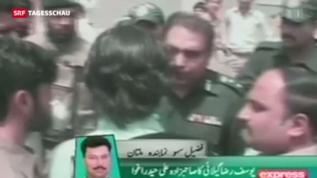 Video «Taliban bedrohen Wahlen in Pakistan» abspielen