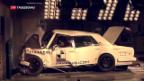 Video «Es steckt viel Kunst in einem Autowrack» abspielen