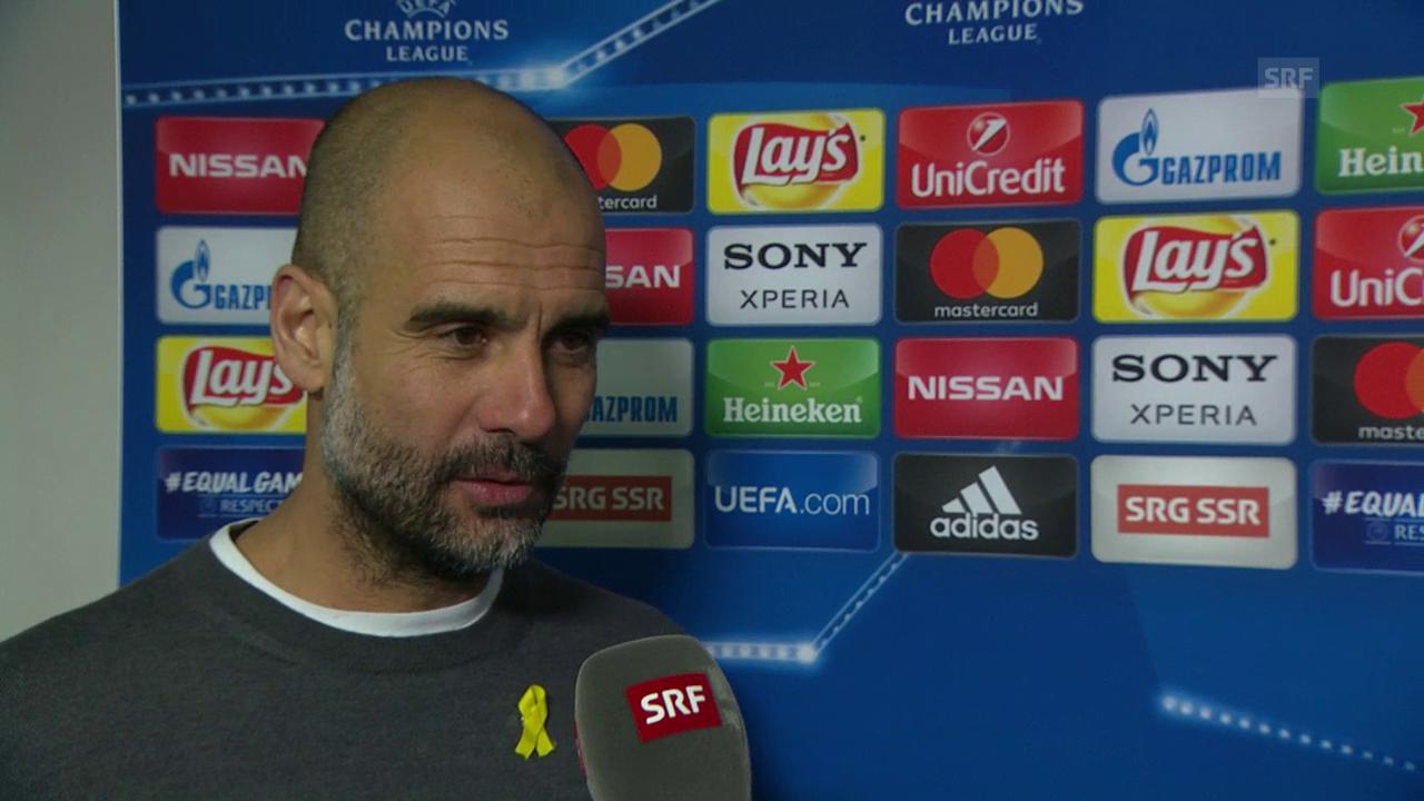 Guardiola: «Ein grosser Schritt Richtung Viertelfinals»