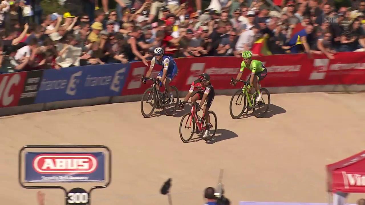 Paris-Roubaix: Taktieren geht fast ins Auge
